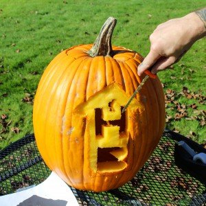 Honey Bucket Jack O'Lantern